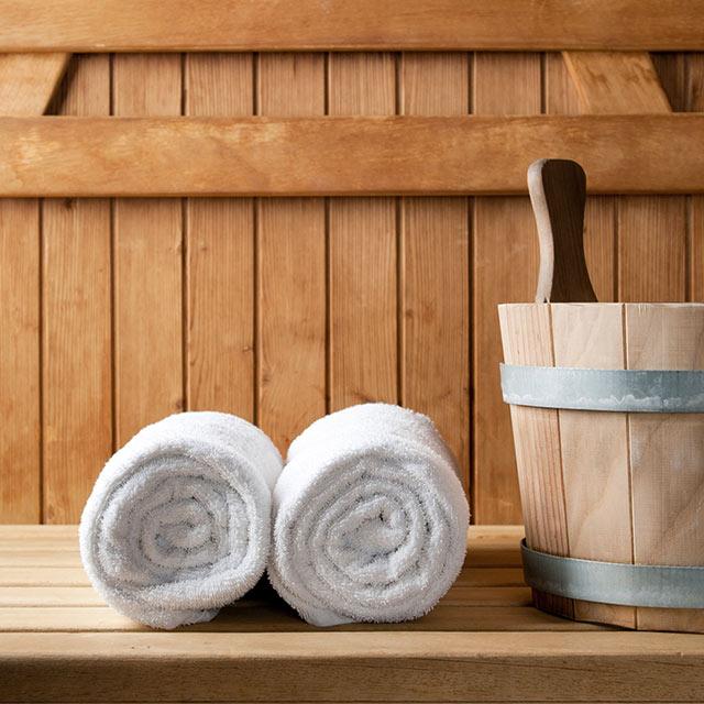 Die Saunawelt im Freizeitbad Ried