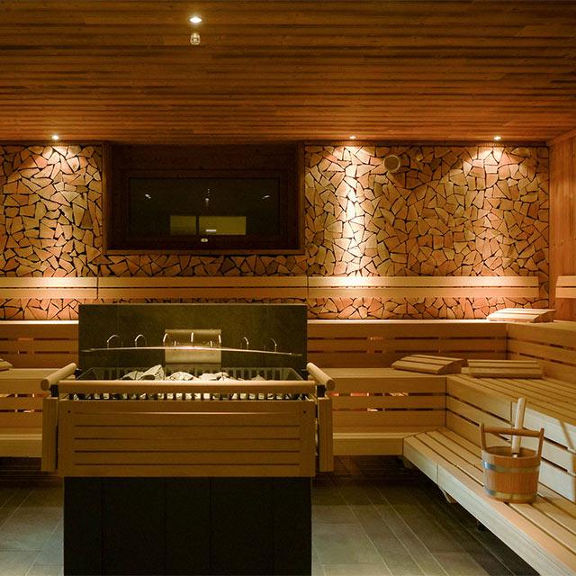 Der Innenbereich unserer Saunawelt